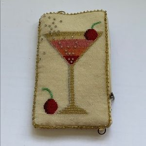 Mary Frances beaded wallet/clutch